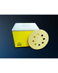 HOOKIT DISCS 150mm WITH HOLES, BOXES OF 100
