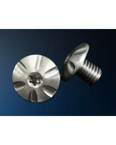 T6 DOMED  FLUTED HEAD